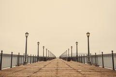 Άποψη αποβαθρών του Σαν Φρανσίσκο Στοκ φωτογραφία με δικαίωμα ελεύθερης χρήσης