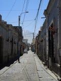Άποψη αποικιακού του στο κέντρο της πόλης, Arequipa, Περού Στοκ Φωτογραφίες