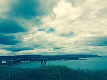 Άποψη απότομων βράχων Στοκ Φωτογραφία