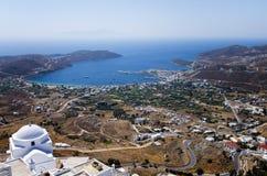 Άποψη από έναν λόφο στοκ εικόνες με δικαίωμα ελεύθερης χρήσης