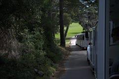 Άποψη από ένα τραίνο τουριστών στοκ φωτογραφία