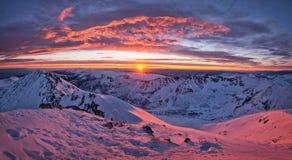 Άποψη από μέγιστο Musala Στοκ φωτογραφία με δικαίωμα ελεύθερης χρήσης