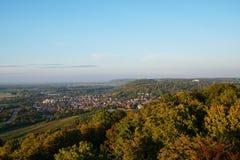 Άποψη από τα βουνά πύργων στοκ εικόνες με δικαίωμα ελεύθερης χρήσης