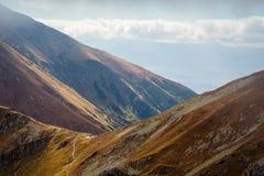 Άποψη από την αιχμή Placlive σε Tatras Στοκ Εικόνες