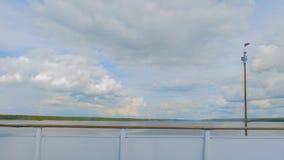 Άποψη από την κίνηση του κρουαζιερόπλοιου στοκ εικόνες