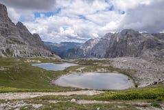 Άποψη από την καλύβα βουνών στο dei Piani Laghi στοκ εικόνες με δικαίωμα ελεύθερης χρήσης