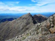 Άποψη από την κορυφή των βουνών Cuillin στο νησί της Skye Στοκ φωτογραφίες με δικαίωμα ελεύθερης χρήσης