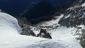 Άποψη από την κορυφή Grosser Priel απόθεμα βίντεο