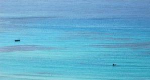 Άποψη από την μπλε λιμνοθάλασσα Στοκ Εικόνα
