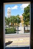 Άποψη από την πόρτα Στοκ Φωτογραφία