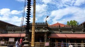 Άποψη από τη βάση ιχνών οδοιπορίας Kodachadri στοκ φωτογραφία με δικαίωμα ελεύθερης χρήσης