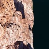 Άποψη από τη γέφυρα στον ποταμό του Κολοράντο στοκ εικόνες με δικαίωμα ελεύθερης χρήσης