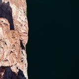 Άποψη από τη γέφυρα στον ποταμό του Κολοράντο, στοκ φωτογραφίες