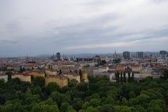 Άποψη από τη γιγαντιαία ρόδα Ferris σε Prater στη Βιέννη Στοκ φωτογραφία με δικαίωμα ελεύθερης χρήσης