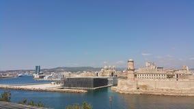 Άποψη από τη Μασσαλία Στοκ εικόνα με δικαίωμα ελεύθερης χρήσης