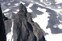 Άποψη από τη μαύρη σύνοδο κορυφής χαυλιοδόντων Στοκ φωτογραφία με δικαίωμα ελεύθερης χρήσης