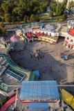 Άποψη από τη ρόδα Ferris της Ευρώπης στο πάρκο Prater Στοκ Εικόνα