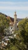 Άποψη από τη alcazaba-Antequera-Ανδαλουσία-Ισπανία Στοκ εικόνα με δικαίωμα ελεύθερης χρήσης