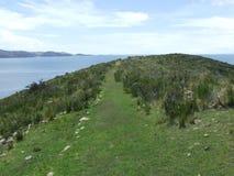 Άποψη από τη Isla Del Sol Στοκ φωτογραφίες με δικαίωμα ελεύθερης χρήσης