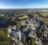 Άποψη από τον πύργο της Ολυμπία, Μόναχο, Γερμανία Στοκ φωτογραφία με δικαίωμα ελεύθερης χρήσης