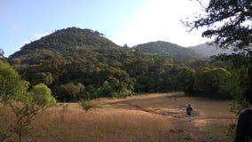 Άποψη από το ίχνος οδοιπορίας Kodachadri στοκ εικόνες