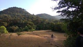 Άποψη από το ίχνος οδοιπορίας Kodachadri στοκ εικόνες με δικαίωμα ελεύθερης χρήσης