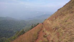 Άποψη από το ίχνος οδοιπορίας Kodachadri στοκ φωτογραφίες
