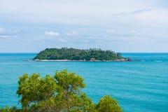 Άποψη από το ακρωτήριο Phromthep, Phuket, Ταϊλάνδη Στοκ φωτογραφία με δικαίωμα ελεύθερης χρήσης