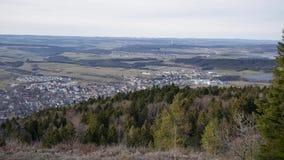 Άποψη από το βουνό στις Άλπεις απόθεμα βίντεο