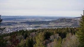 Άποψη από το βουνό στις Άλπεις φιλμ μικρού μήκους