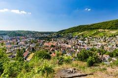 Άποψη από το βουνό Lagern σε Wettingen στοκ εικόνες