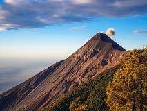 Άποψη από το ηφαίστειο Acatenango, Γουατεμάλα Στοκ φωτογραφίες με δικαίωμα ελεύθερης χρήσης