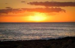 Άποψη από το θέρετρο Ihilani & τη SPA, Ko Olina, Oahu ΓΕΙΑ Στοκ Φωτογραφίες