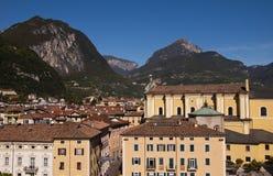 Άποψη από το κάστρο Riva Del Garda Ιταλία Στοκ Φωτογραφίες