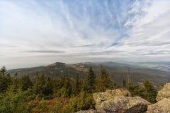 Άποψη από το μεγάλο arber βουνών Στοκ εικόνα με δικαίωμα ελεύθερης χρήσης
