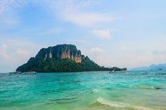 Άποψη από το νησί Tup σε Krabi, Ταϊλάνδη Στοκ φωτογραφία με δικαίωμα ελεύθερης χρήσης