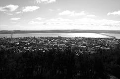 Άποψη από το νόμο του Dundee - άποψη του Dundee στοκ εικόνες
