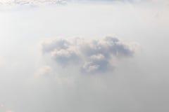 Άποψη από το παράθυρο πτήσης Στοκ Εικόνες