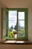 Άποψη από το παράθυρο Στοκ Εικόνες