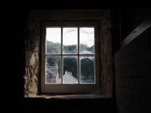 Άποψη από το παράθυρο στοκ φωτογραφίες