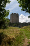 Κάστρο Platamonas Στοκ Εικόνα
