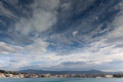 Άποψη από το πορθμείο που χωρίζει Στοκ φωτογραφίες με δικαίωμα ελεύθερης χρήσης