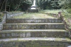 Άποψη από το δρόμο της υπερχείλισης στη δεξαμενή Anglezarke, Lancashire, Αγγλία Στοκ Εικόνες