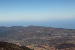Άποψη από το υποστήριγμα Teide Στοκ Εικόνες