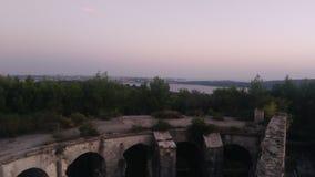 Άποψη από το φρούριο στο ηλιοβασίλεμα στοκ εικόνες