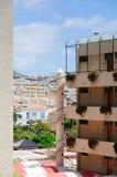 Άποψη από το δωμάτιο ξενοδοχείου Στοκ φωτογραφίες με δικαίωμα ελεύθερης χρήσης