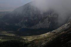 Άποψη από το όρος Katahdin Στοκ Εικόνες