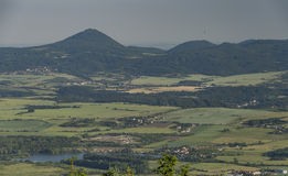 Άποψη από το λόφο hurka Komari Στοκ φωτογραφία με δικαίωμα ελεύθερης χρήσης