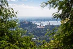 Άποψη από το λόφο Sagaing Στοκ Εικόνες