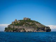 Άποψη από το Aragonese Castle Στοκ Φωτογραφία